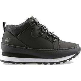 Buty dla chłopca 4F czarne HJZ20 JOBMW002A 21S