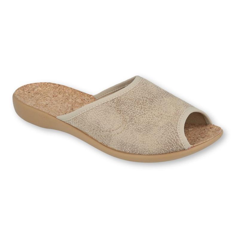 Befado obuwie damskie pu 254D113 beżowy