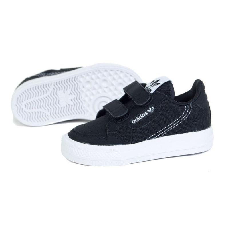 Buty adidas Continental Vulc Cf I EG9101 białe czarne