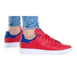 Buty adidas Stan Smith Jr FV3611 białe czerwone