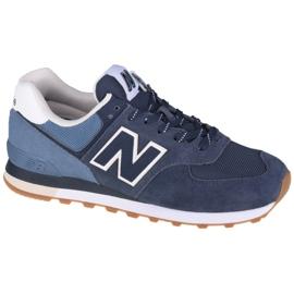 Buty New Balance U ML574GRE białe granatowe niebieskie