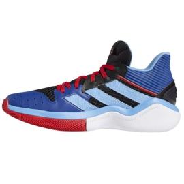 Buty do koszykówki adidas Harden Steapback M FW8482 wielokolorowe niebieskie