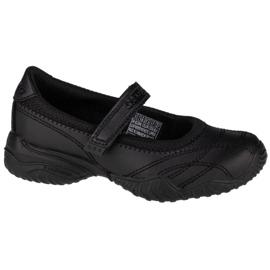 Buty Skechers Velocity-Pouty Jr 81264L-BLK czarne