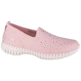 Buty Skechers Go Walk Smart-Bedazzle W 124053-LTPK różowe