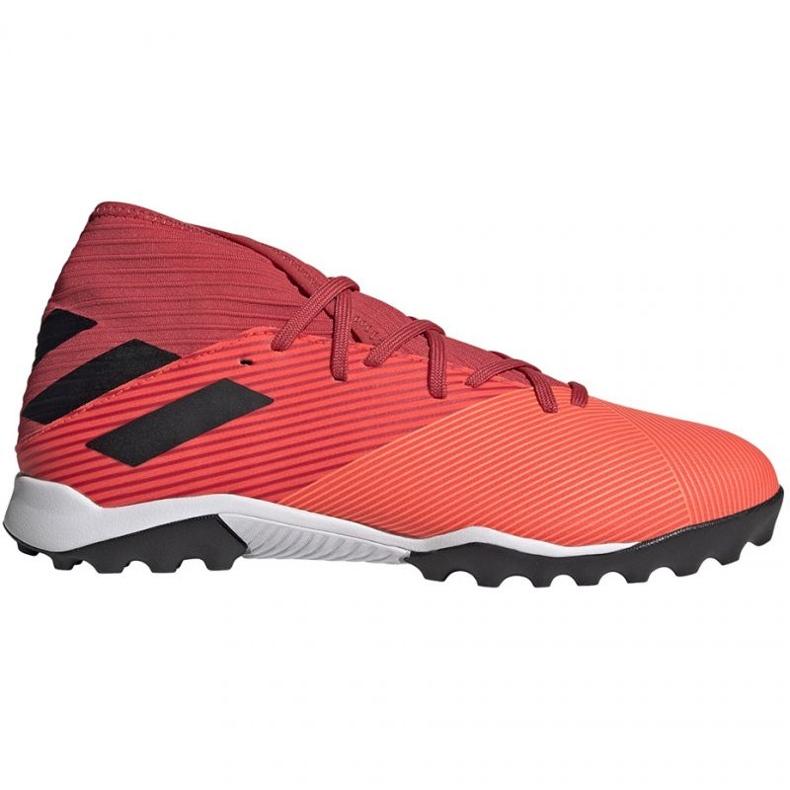Buty piłkarskie adidas Nemeziz 19.3 Tf M EH0286 wielokolorowe czerwone
