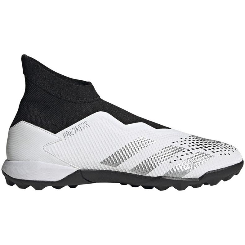 Buty piłkarskie adidas Predator 20.3 Ll Tf M FW9193 białe wielokolorowe