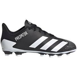 Buty piłkarskie adidas Predator 20.4 FxG Jr FW9221 czarne wielokolorowe