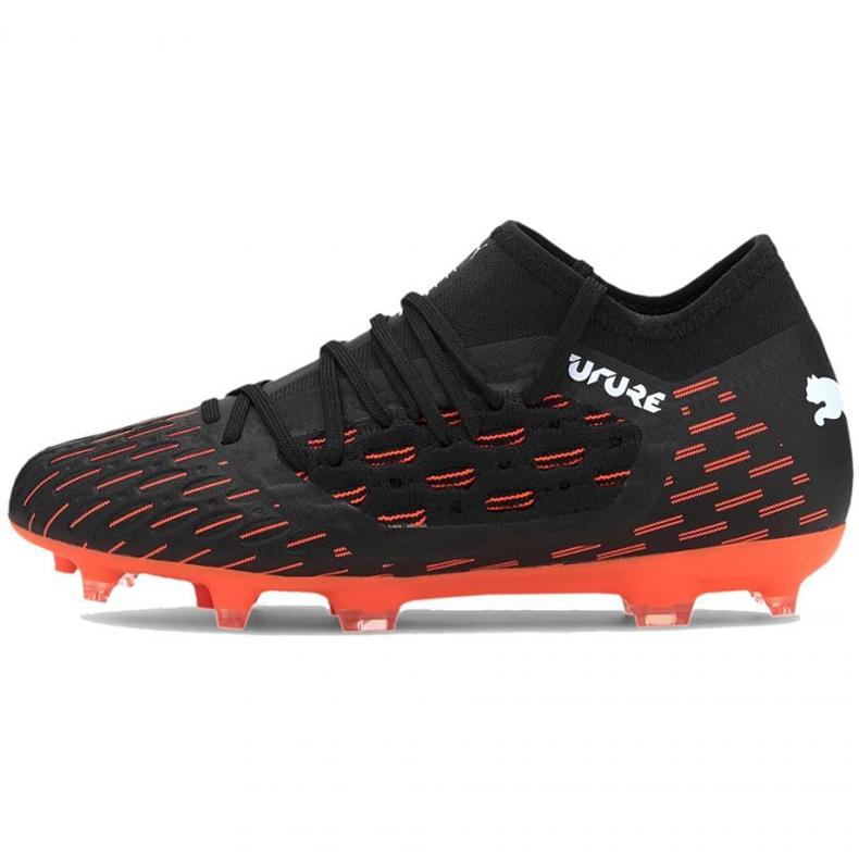 Buty piłkarskie Puma Future 6.3 Netfit Fg Ag Jr 106201 01 wielokolorowe czarne