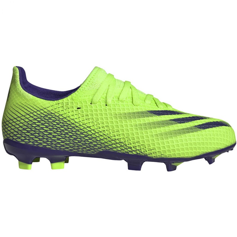 Buty piłkarskie adidas X Ghosted.3 Fg Jr EG8212 zielone zielone