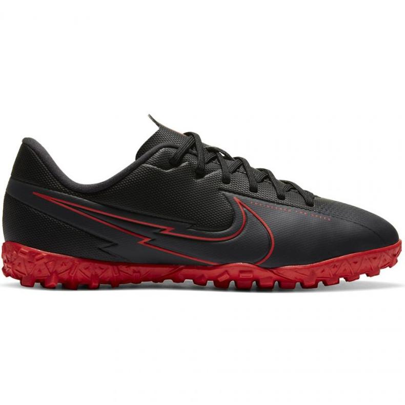 Buty piłkarskie Nike Mercurial Vapor 13 Academy Tf Jr AT8145 060 czarne wielokolorowe