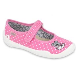 Befado obuwie dziecięce 114X433 różowe