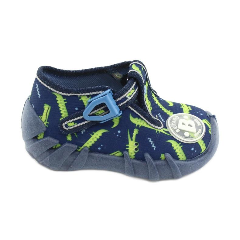 Befado obuwie dziecięce 110P410 granatowe zielone