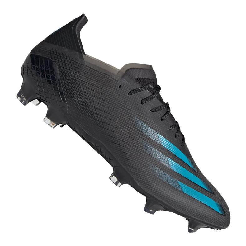 Buty piłkarskie adidas X Ghosted.1 Fg M EG8255 czarne czarne
