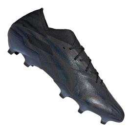 Buty piłkarskie adidas Nemeziz 19.1 Fg M FW7422 wielokolorowe czarne