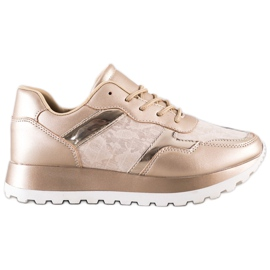 Bestelle Stylowe Sneakersy beżowy