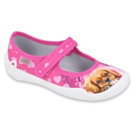 Befado obuwie dziecięce 114Y438 różowe