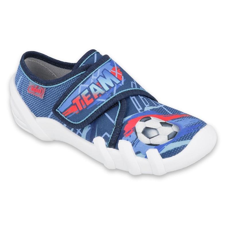 Befado obuwie dziecięce 273X318 niebieskie wielokolorowe