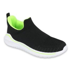 Befado obuwie młodzieżowe  516Q080 czarne