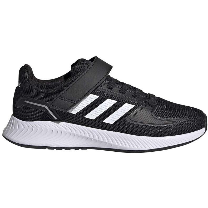 Buty dla dzieci adidas Runfalcon 2.0 czarne FZ0113 białe