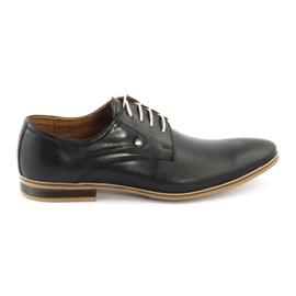 Buty wizytowe męskie 579 czarne
