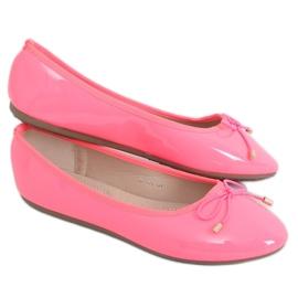 Baleriny neonowe różowe DY-01 Fuchsia