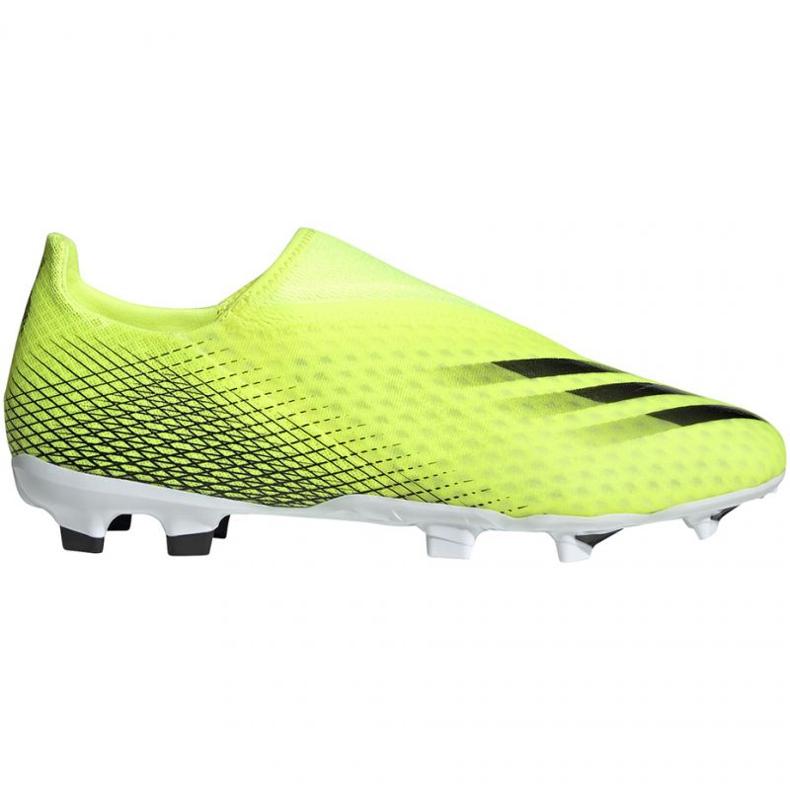 Buty piłkarskie adidas X Ghosted.3 Ll Fg M FW6969 żółte wielokolorowe