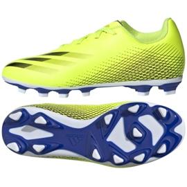 Buty piłkarskie adidas X Ghosted.4 FxG Jr FW6933 żółte wielokolorowe