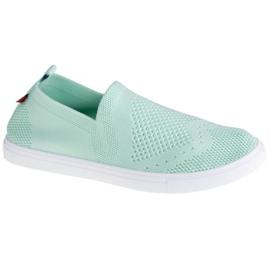 Buty Big Star Shoes W FF274A604 białe zielone
