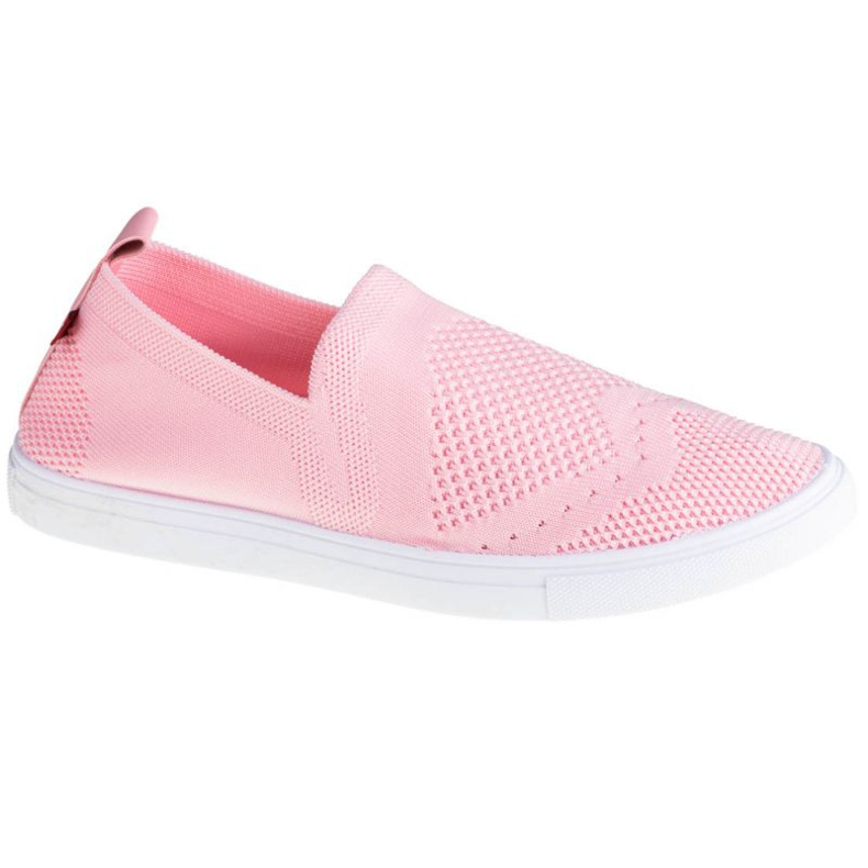 Buty Big Star Shoes W FF274A606 białe różowe