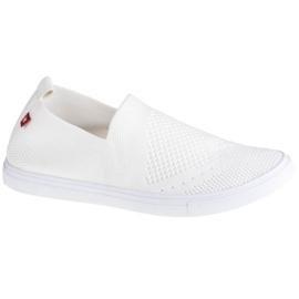Buty Big Star Shoes W FF274A608 białe