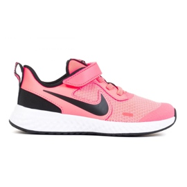 Buty Nike Revolution 5 Psv Jr BQ5672-602 białe różowe