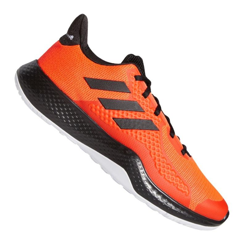 Buty adidas FitBounce Trainer M EE4600 czarne pomarańczowe