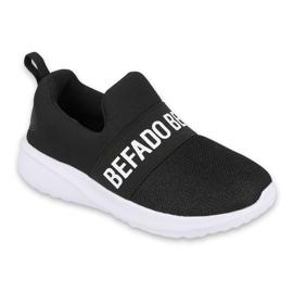 Befado obuwie dziecięce  516Y083 białe czarne