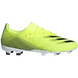 Buty piłkarskie adidas X Ghosted.3 Fg żółto-czarne FW6948 żółte żółte