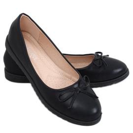 Baleriny damskie czarne YSD826 Black