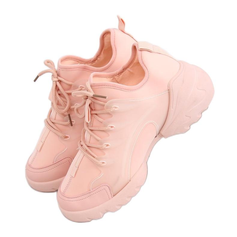 Buty sportowe różowe LA126P Pink