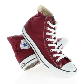 Trampki Converse Chuck Taylor Hi M9613 białe czerwone