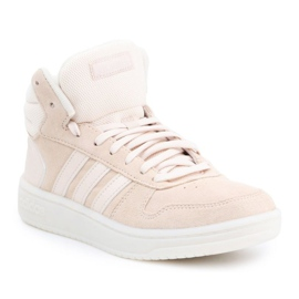 Buty adidas Hoops 2.0 Mid W EE7894 różowe
