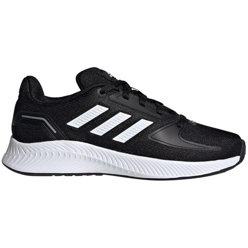 Buty adidas Runfalcon 2.0 K Jr FY9495 czarne niebieskie
