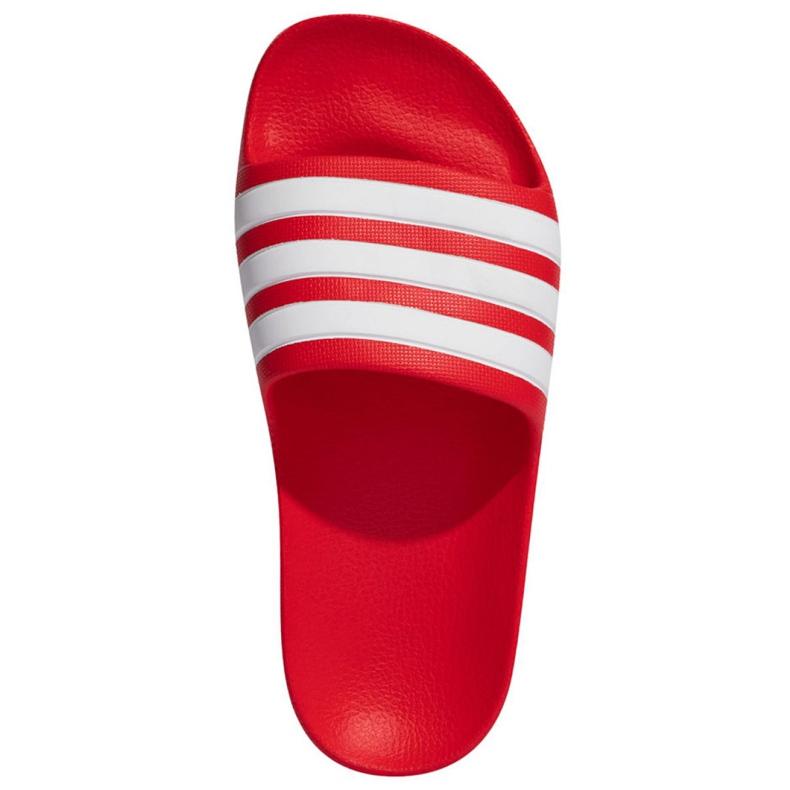 Klapki adidas Adilette Aqua FY8066 czerwone granatowe