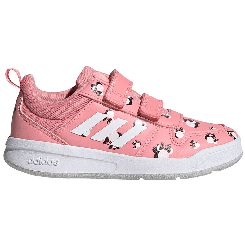 Buty dla dzieci adidas Tensuar C różowe FZ3212 białe