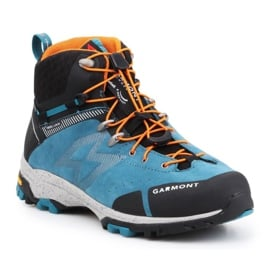 Buty trekkingowe Garmont G-Trail Gtx M 481057-211 czarne niebieskie pomarańczowe