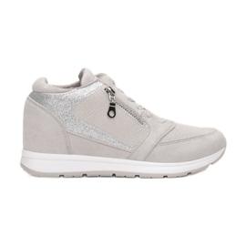 Vices koturno 8368-5 Grey srebrny szare