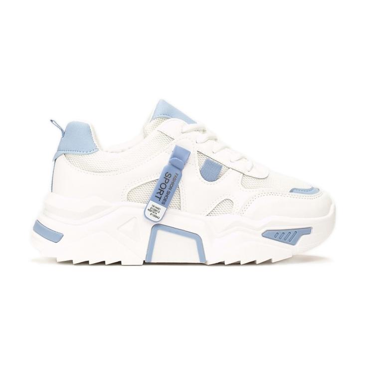 Vices 8552-101-white/blue białe niebieskie