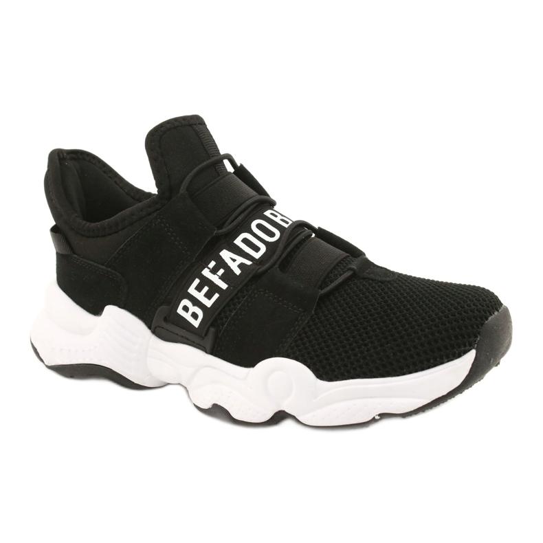 Befado obuwie dziecięce  516X066 białe czarne