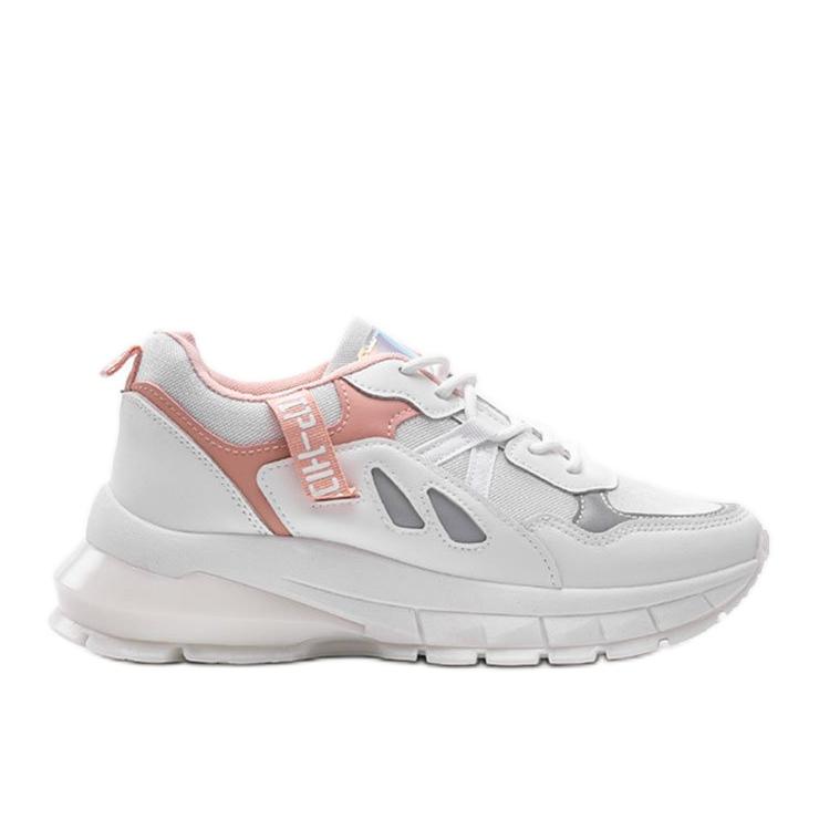 Białe sneakersy sportowe Claire
