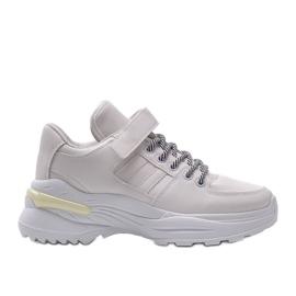Białe sneakersy sportowe Lollypop