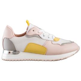 SHELOVET Lekkie Stylowe Sneakersy wielokolorowe