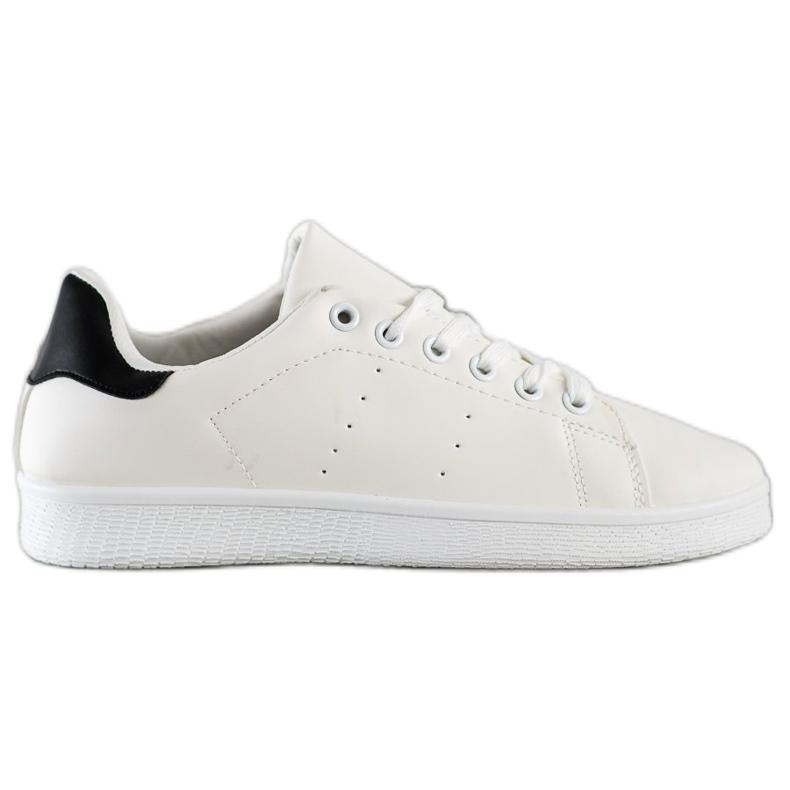 SHELOVET Niskie Buty Sportowe białe
