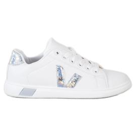 SHELOVET Wiosenne Buty Sportowe białe